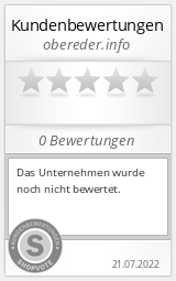 Shopbewertung - obereder.info
