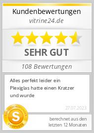Shopbewertung - vitrine24.de