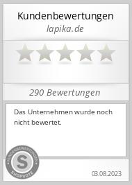 Shopbewertung - lapika.de