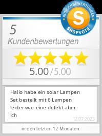 Shopbewertung - universal-needs.de