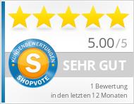 Shopbewertung - taubenweiss.de