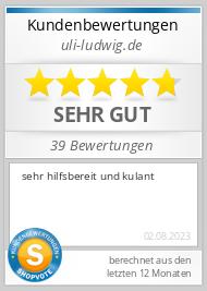 Shopbewertung - uli-ludwig.de