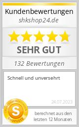 Shopbewertung - shkshop24.de