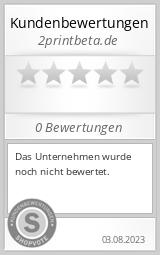 Shopbewertung - 2printbeta.de