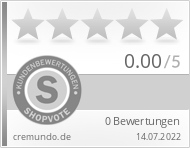 Shopbewertung - cremundo.de