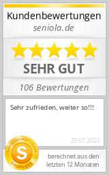 Shopbewertung - seniola.de