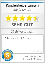 Shopbewertung - liquido24.de