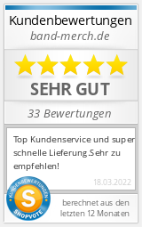 Shopbewertung - band-merch.de
