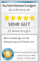 Shopbewertung - der24hshop.de