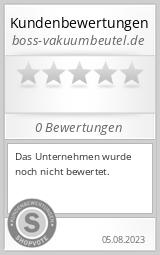Shopbewertung - boss-vakuumbeutel.de