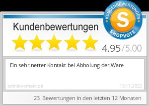 Shopbewertung - schnittverhext.de