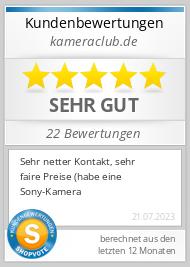 Shopbewertung - kameraclub.de