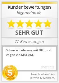 Shopbewertung - bigpandav.de