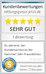 Shopbewertung - rettungsgasse-jetzt.de