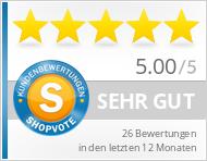 Shopbewertung - bodhran-info.de