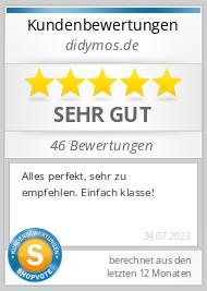 Shopbewertung - didymos.de