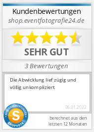 Shopbewertung - shop.eventfotografie24.de