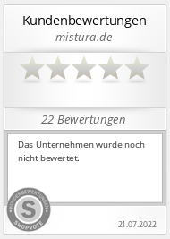 Shopbewertung - mistura.de