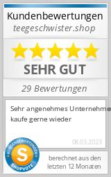Shopbewertung - tee-geschwister.de