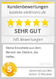 Shopbewertung - luedeke-elektronic.de