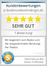 Shopbewertung - rj-bodenundwohndesign.de