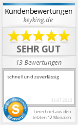 Shopbewertung - keyking.de