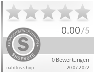 Shopbewertung - nahtlos.shop
